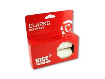 Clarks, Chwyty kierownicy, CLO201 LOCK-ON, biały, 130 mm-Clarks