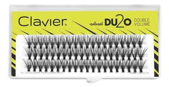 Clavier Natural Du2o Double Volume Eyelashes Kępki Rzęs C-12mm-Clavier