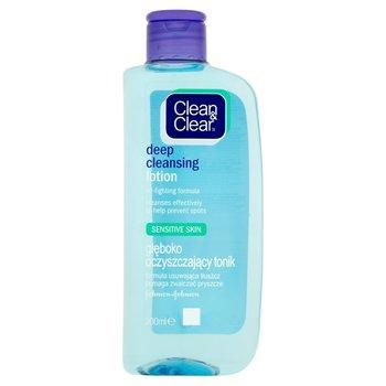 Clean&Clear, głęboko oczyszczający tonik do twarzy, 200 ml-Clean & Clear