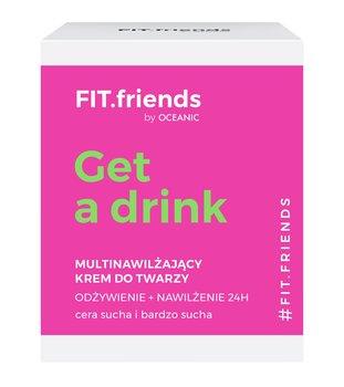 Cleanic, FIT.friends, krem multinawilżający, 50 ml-Cleanic