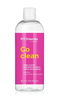 Cleanic, FIT.friends, woda micelarna Sebo-Clean, 400 ml - Cleanic