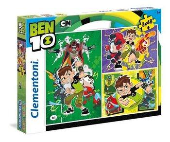 Clementoni, Ben 10, puzzle tradycyjne-Clementoni