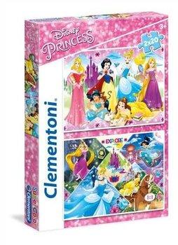 Clementoni, Księżniczki, puzzle tradycyjne-Clementoni