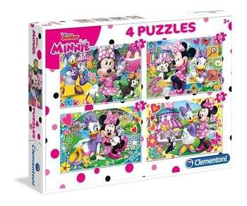 Clementoni, Myszka Minnie, puzzle tradycyjne Szczęśliwi pomocnicy-Clementoni
