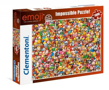 Clementoni, puzzle 1000 elementów Emoji-Clementoni