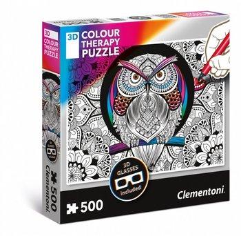 Clementoni, puzzle 3D Sowa-Clementoni