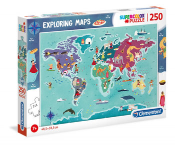 Clementoni, puzzle C&T in the World-Clementoni