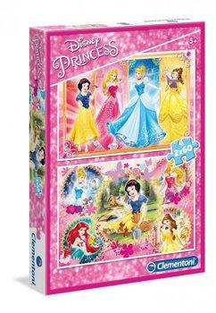Clementoni, puzzle Księżniczki Disneya-Clementoni