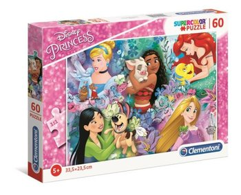 Clementoni, puzzle Super Kolor Princess-Clementoni