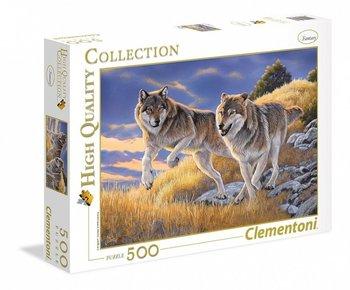 Clementoni, puzzle Wilki-Clementoni