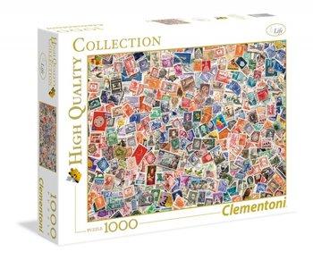 Clementoni, puzzle Znaczki-Clementoni