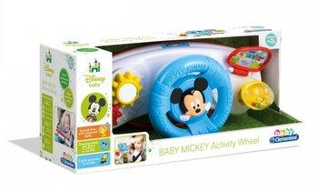 Clementoni, zabawka interaktywna kierownica Baby Miki
