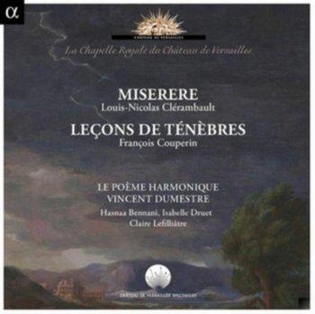 Clerambault: Miserere / Couperin: Lecons de Tenebres-Le Poeme Harmonique, Dumestre Vincent, Bennani Hasnaa, Druet Isabelle, Lefilliatre Claire