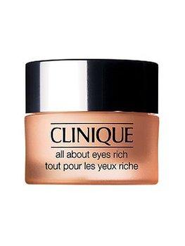 Clinique, All About Eyes Rich, bogaty krem redukujący sińce pod oczami, opuchliznę oraz linie i drobne zmarszczki, 15 ml-Clinique