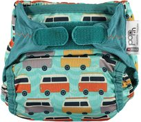 Close, Pop in, Pielucha wielorazowa AIO V2, Green/Green Campervan