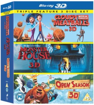 Cloudy With a Chance of Meatballs/Monster House/Open Season-Lord Phil, Miller Christopher, Kenan Gil, Allers Roger, Culton Jill, Stacchi Anthony