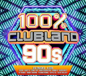Clubland 100% 90s-Various Artists
