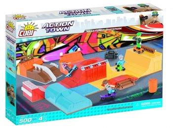 Cobi klocki, klocki plastikowe Action Town Duży szalony skatepark-COBI