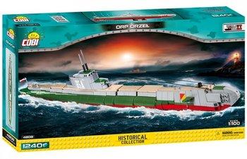 Cobi, klocki Mała Armia ORP Orzeł Polski Okręt Podwodny-COBI