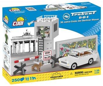 Cobi, klocki Trabant 601 30 Rocznica Upadku Muru Berlińskiego-COBI