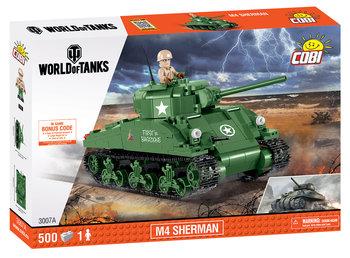 Cobi Small Army, klocki Czołg WOT Sherman A1/Firefly, COBI-3007A-COBI