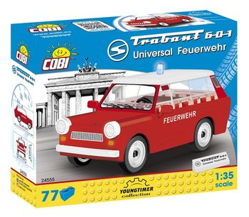 Cobi, tlocki Youngtimer Trabant 601 Universal Feuerwehr, COBI-24555-COBI