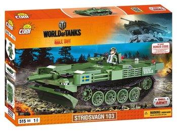 Cobi, World Of Tanks, klocki Czołg 3023 Wot Stridsvagn 103, 3023-COBI