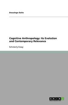 Cognitive Anthropology-Oulte Dessalegn