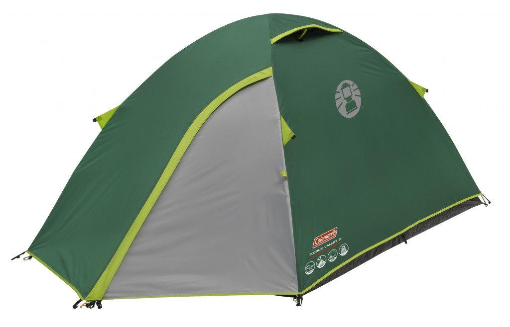 Coleman, Namiot turystyczny, Kobuk Valley 2, zielony, 110x145x255cm