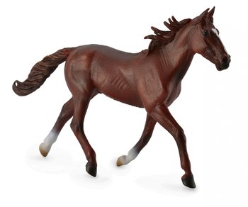 Collecta, figurka Koń rasy Kusak amerykański maści kasztan, rozmiar XL-Collecta