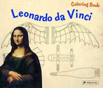 Coloring Book. Leonardo da Vinci-Sauer Inge