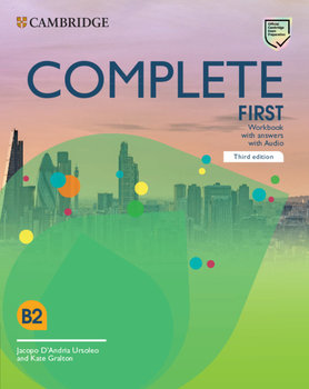 Complete First Workbook with Answers with Audio-D'Andria Ursoleo Jacopo