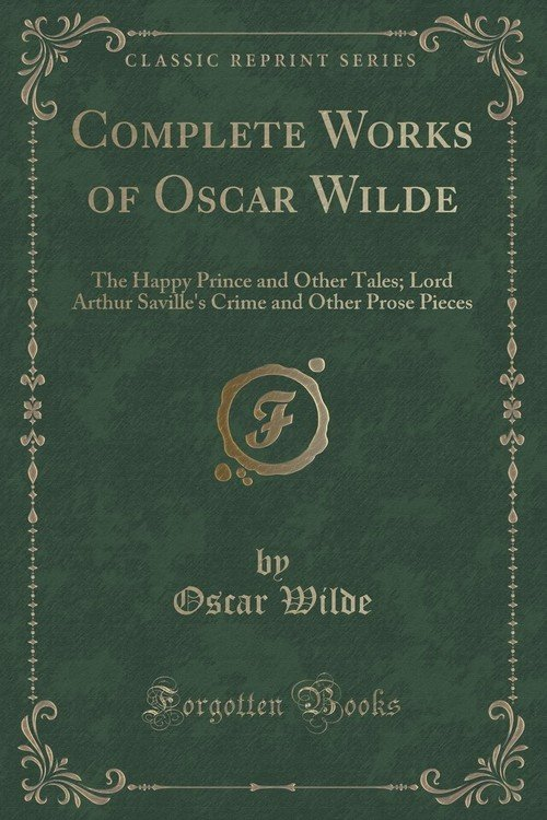 complete works of oscar wilde pdf