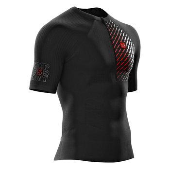 Compressport, Koszulka męska, Trail Running Postural SS Top M, czarna, rozmiar S-Compressport