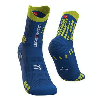 Compressport Pro Racing Socks V3.0 Trail U Niebiesko-Zielone (PRSV3-TR-513)-Compressport