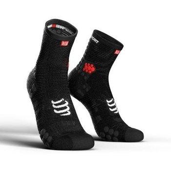 Compressport, Skarpety do biegania, ProRacing Socks V3 High, czarny, rozmiar 42/44-Compressport