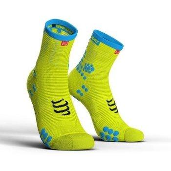 Compressport, Skarpety do biegania, ProRacing Socks V3 High, zielony, rozmiar 39/41-Compressport