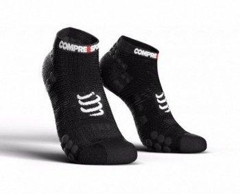 Compressport, Skarpety do biegania, ProRacing Socks V3 Low, czarny, rozmiar 35/38-Compressport