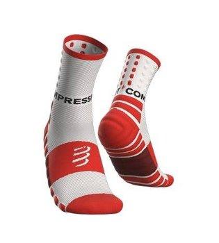 Compressport, Skarpety do biegania, Shock Absorb Socks, biały, rozmiar 35/38-Compressport