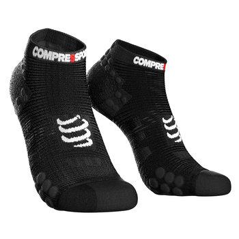 Compressport, Skarpety, Pro Racing Socks V3 Run Low U (RSLV3-9999), czarny, rozmiar T2-Compressport