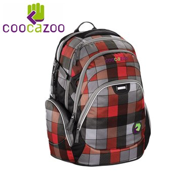 Coocazoo, plecak dwukomorowy, JobJobber, Red District-Coocazoo