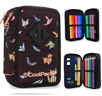 Coolpack, piórnik z wyposażeniem, Jumper 2 origami-CoolPack