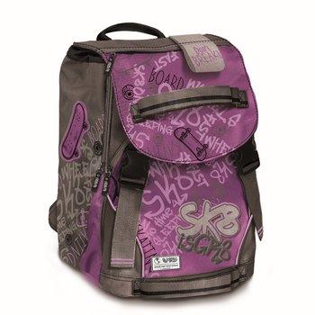 Copywrite, plecak młodzieżowy, Spirit, fioletowo-szary-Copywrite