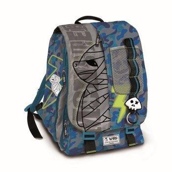 Copywrite, plecak młodzieżowy, Spirit, niebiesko-szary-Copywrite