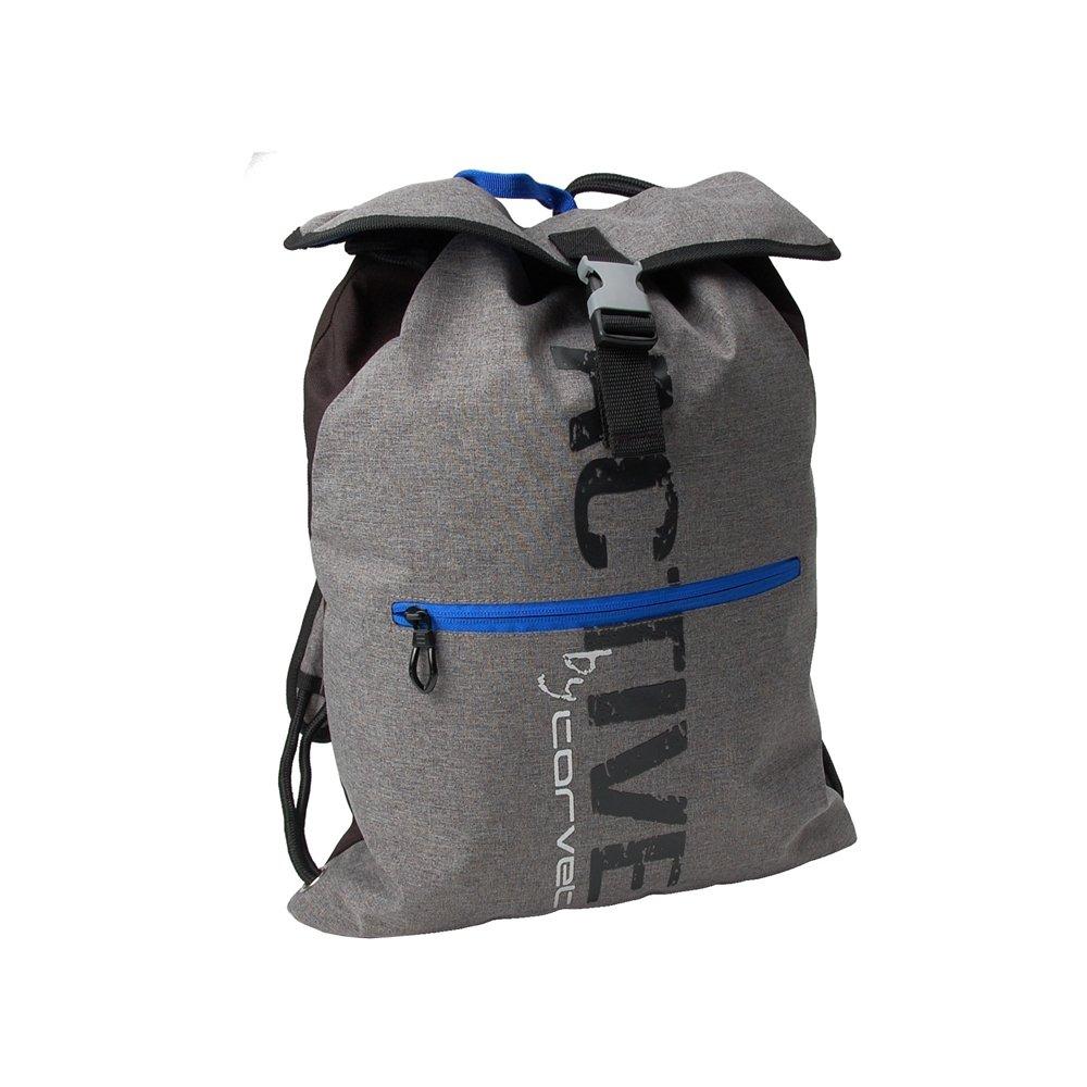 Corvet, plecak młodzieżowy, szaro-niebieski - CORVET | Artykuły szkolne Sklep EMPIK.COM