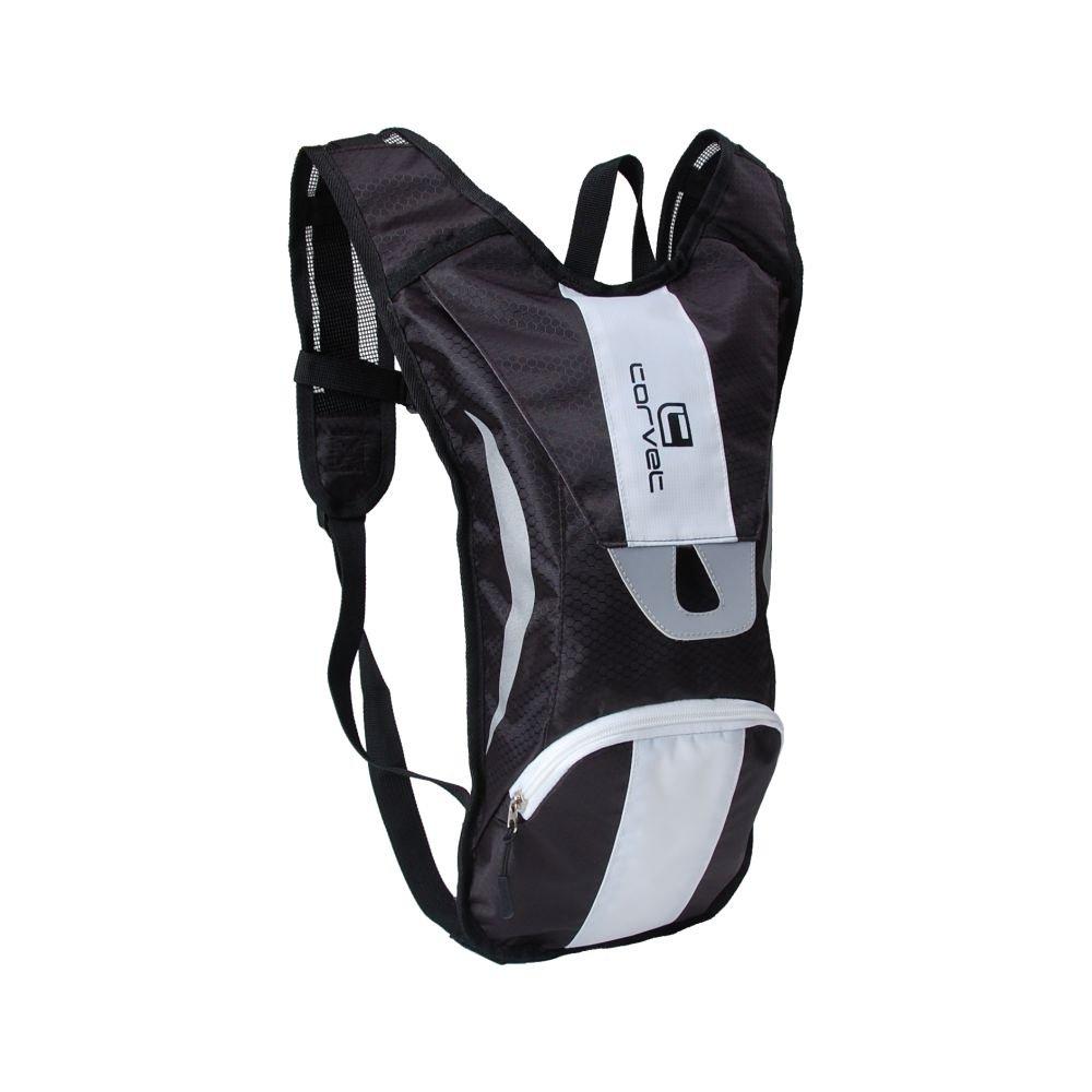 Corvet, Plecak rowerowy, BP 2504-82, czarno-biały