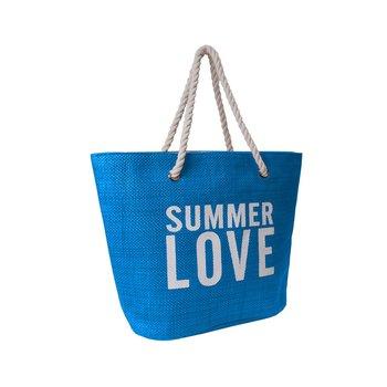 Corvet, Torba plażowa, BB 7007-31, Summer Love, niebieska-CORVET