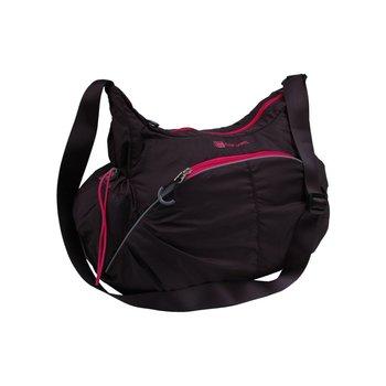 Corvet, Torba sportowa, HB 4610-80, czarno-różowy, 28x50x18 cm -CORVET