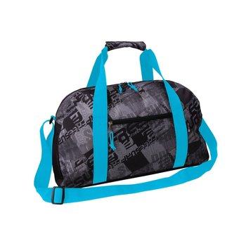 Corvet, Torba sportowa, SB 1035-38, czarno-niebieski, 50x28x23 cm-CORVET