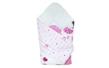 Cottolare, Rożek niemowlęcy, drukowany, standard, Baletnica, Róż-Cottolare